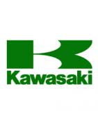 Rebuilt protection parts for motorbike vintage Kawasaki